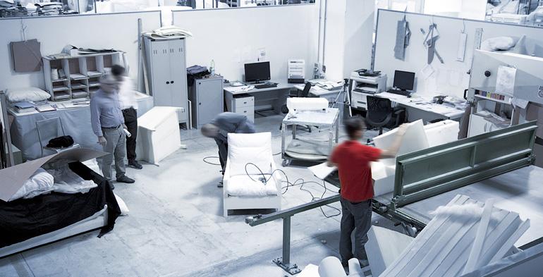 Furia Cuscini Spa.Fr Ufficio Tecnico Sviluppo Prototipi